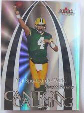 Brett Favre - 2000 Fleer Mystique Canton calling INSERT #cc4 - Green Bay Packers