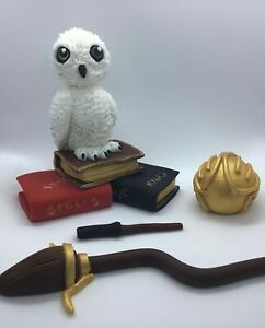 Edible Harry Potter Hedwig Cake Topper Decorations