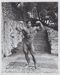 Body Builder & Schwarzenegger movie body double Franco Columbo signed photo