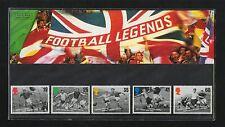 QEII 1996 Presentation Pack Football Legends Stamps