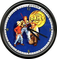 Daisy Red Ryder BB Gun Father Son Sign Officially Licensed Wall Clock #227