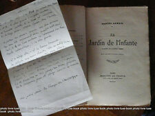 Samain Albert Au jardin de l'infante recueil de poésie poèmes sur le reve