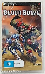 BLOOD BOWL Sony PSP Playstation with booklet