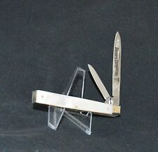"""FIGHT'N ROOSTER MOTHER OF PEARL DOCTORS KNIFE """"NEAR MINT!! NO CASE OR BOX"""""""