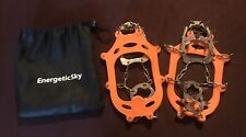 EnergeticSky Walk Traction Ice Cleat Spikes Size Medium