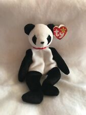 TY Beanie Baby Fortune  the Bear 1997 Rare With Gospart Error
