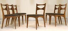 Jon Van Koert Drexel Profile dining chair set 6 vintage mid century modern