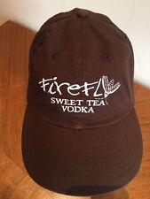 Firefly Sweet Tea Vodka Cap Hat Chocolate Brown Adjustable