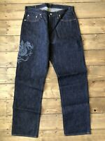 Full Count 0105 FS Jeans Made In Japan Rare Selvage W34 L36 Blue Indigo New