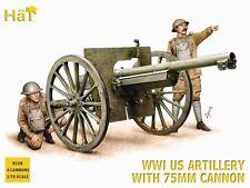 Hat Industrie Nordenfelt (gardner) Pistolet & Équipage - 1/72 Echelle