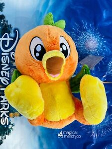 "2021 NEW Disney Parks Big Feet Foot 10"" Florida Orange Bird Plush ORANGE SCENTED"