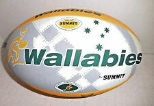 Wallabies Summit Rugby Replica Ball Football Size 5 Australian Team