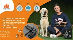 600M Remote Dog Training Shock Collar Waterproof Rechargeable for All Pet Dogs