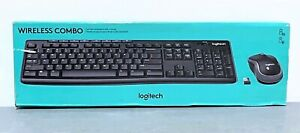 Logitech Wireless Combo Keyboard K270 and Wireless Mouse M185 with USB Receiver