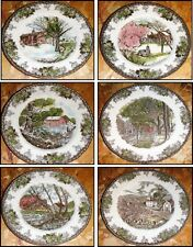 Johnson Brothers Friendly Village Limited Edition Collectors Plates Set of 6