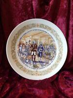 "1974 D'arceau Limoges Lafayette Legacy Collection Plate #3 #371 8.5"" w/COO(COA)"