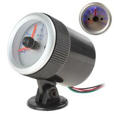 2 Inch 52mm 0~8000RPM Blue LED Auto Car Tachometer Tach Gauge with Holder Cup US