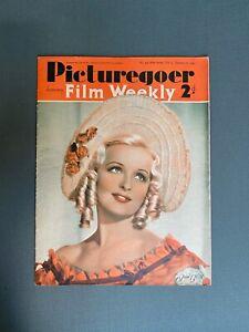 PICTUREGOER FILM WEEKLY Magazine Jan 20, 1940 JEAN COLIN Cover