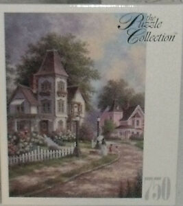 Puzzle Collection WATCHING OVER YOU 750 Pcs Dennis Patrick Lewan NEW Unopened