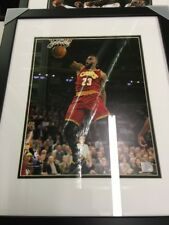 """New Framed Sports """"in Action"""" Picture Of Lebron James 11x14"""