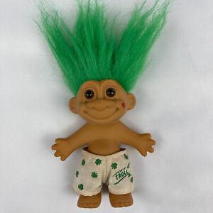 """IRISH LUCKY O'TROLL  - Vintage 5"""" Russ Troll Doll"""