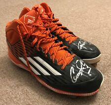 Carlos Correa JT Sports SGC Game Used Autographed Cleats 2016 Houston Astros