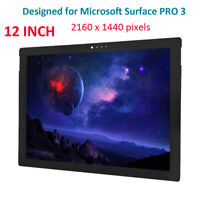 12 in For Microsoft Surface Pro 3 1631 V1.1 LCD HD Touch Screen Panel 2160x1440P