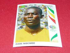 518 DARE NIBOMBE TOGO PANINI FOOTBALL GERMANY 2006 WM FIFA WORLD