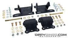 Dirty Dingo DD-LS-S2 2WD S10 LS1 Adjustable Conversion Mounts LS Engines 82-04