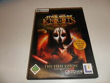 Pc star wars-Knights of the old republic 2: the sith lords
