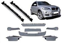 BMW X5 E70 06-09 Aero Aerodynamik Paket Spoiler Body Kit Lippe + TRITTBRETTER
