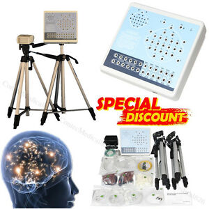 Digital Brain Electric Activity Mapping Systems 24 Channels EEG Machine+Software