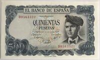 ESPAGNE - 500 PESETAS (1971) - Billet de banque Neuf
