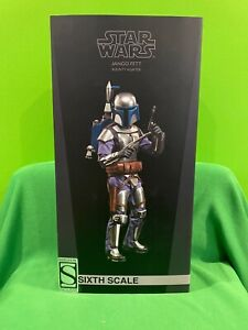 Jango Fett Sixth Scale Exclusive Figure by Sideshow Collectibles - SOLD OUT