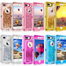 For iPhone 6 6S 7 8 Defender Liquid Glitter Bling Case Cover Fits OtterBox Clip