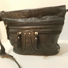 Stone & Co Black Genuine Leather Crossbody Bag Purse