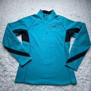 Under Armour Quarter Zip Fleece Pullover Women's Small 1/4 Lightweight C6