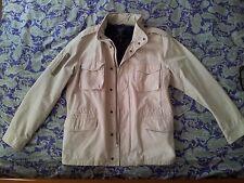 Gant chaqueta de Lona Color Beige Para Hombre Talla Xl Nuevo Nunca Usado