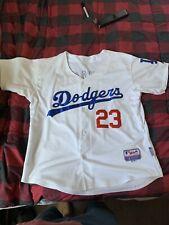 Adrian Gonzalez LA Dodgers Majestic Jersey Size 48 White Los Angeles #23 Stitch