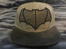 Batman V Superman Dawn of Justice Armor New Era 59/50 Hat RARE/ SOLD OUT - 7 1/8