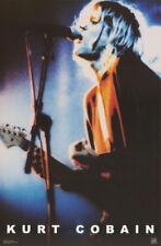 Poster:Music: Kurt Cobain In Concert - Nirvana Free Shipping ! #6511 Rw18 E