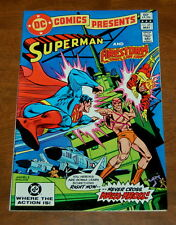 DC Comics Presents Superman and The Fury of Firestorm the Nuclear Man #45 VF+
