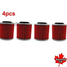 4x Oil Filter For  CAN-AM Outlander 400 500 650 800R 1000 Renegade500 800R 1000