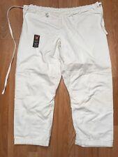ATAMA TRADITIONAL GI PANT ~ Size A3 ~ White ~ Drawcord Waist ~ Jiu Jitsu