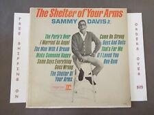 SAMMY DAVIS JR THE SHELTER OF YOUR ARMS MONO LP R-6114