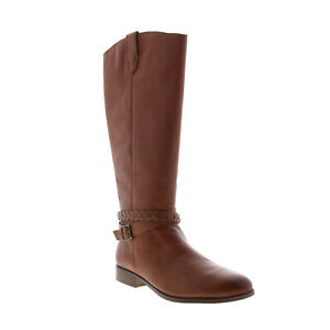 Frye & Co. Cellina Tall Inside Zip 72343 Womens Brown Casual Dress Boots 6