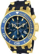 New Mens Invicta 22366 Specialty Subaqua Diver Chronograph Black Rubber Watch
