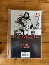 MARVEL  New Avengers Marvel Comics Event Civil War Variant  #23 Unread Condition