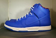 Nike Dunk Ultra Rain Jacket Shoes Racer Blue/Plaid/White SZ 10.5 (845055-400)Men