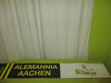 """Alemannia Aachen Werbe Stoff Schal """"ALEMANNIA AACHEN"""" + """"Bitte ein Bitburger"""""""